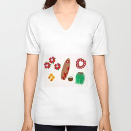 Only the essentials - I.- Unisex V-Neck