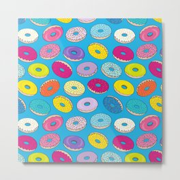 Donuts In The Sky By Everett Co Metal Print