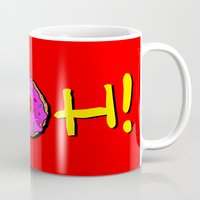 simpsons Mugs featuring The Simpsons: D´oh! by dutyfreak