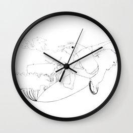 Seal of Caim Wall Clock