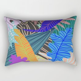 Lush Leaves 2 Rectangular Pillow