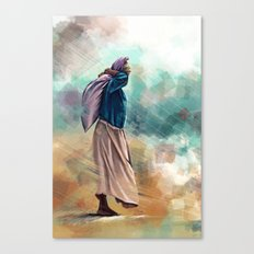 Ocean work Canvas Print