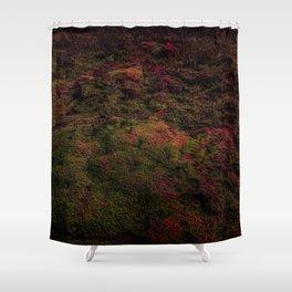 Dark Warmth Shower Curtain