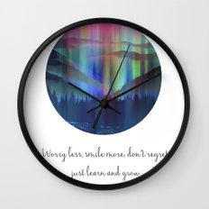 Worry less Wall Clock