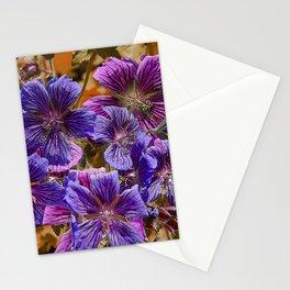 SPECIE GERANIUMS Stationery Cards