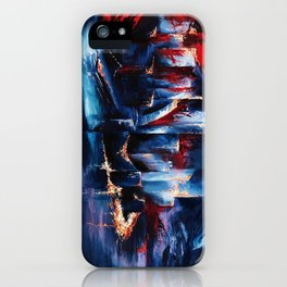 """City Lights"" Painting iPhone Case"