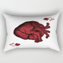 Ace of Hearts Rectangular Pillow
