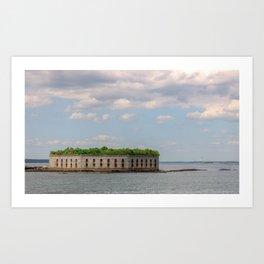 Ocean Fort Art Print