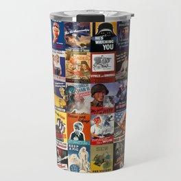 WWII Posters Travel Mug
