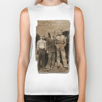 blues brothers Biker Tanks featuring brothers by Seamless