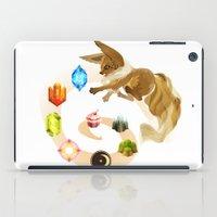 eevee iPad Cases featuring Eevee by Katie O'Meara