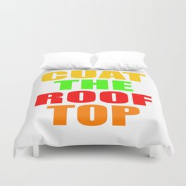 CUAT THE ROOFTOP Duvet Cover