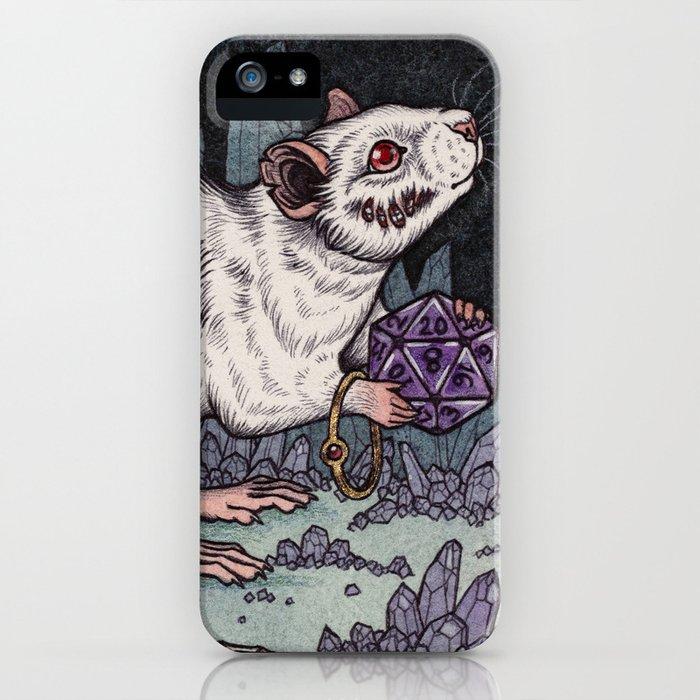 Sorcerer's Familiar iPhone Case
