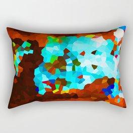 Umbrella Lady Rectangular Pillow