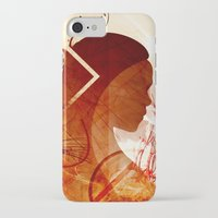 daenerys iPhone & iPod Cases featuring Mother of Dragons by Micheal Calcara