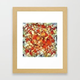 Hot water Framed Art Print
