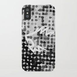 Retropattern Gray iPhone Case