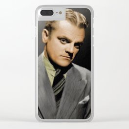 James Cagney Clear iPhone Case