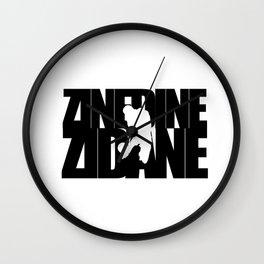 Name: Zidane Wall Clock