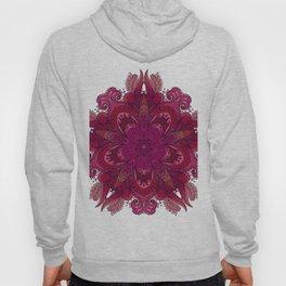 Pink Indian Mandala Hoody