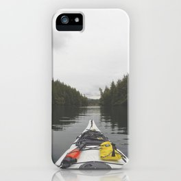 Live the Kayak Life iPhone Case