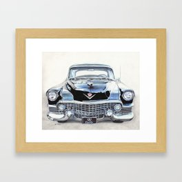 54 Cadillac Fleetwood Framed Art Print