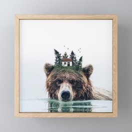 House Guardian Framed Mini Art Print