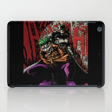 Laughing In The Dark iPad Case