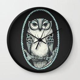Old Owl Wall Clock