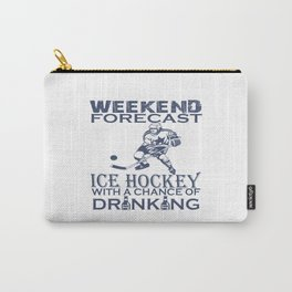WEEKEND FORECAST ICE HOCKEY Carry-All Pouch