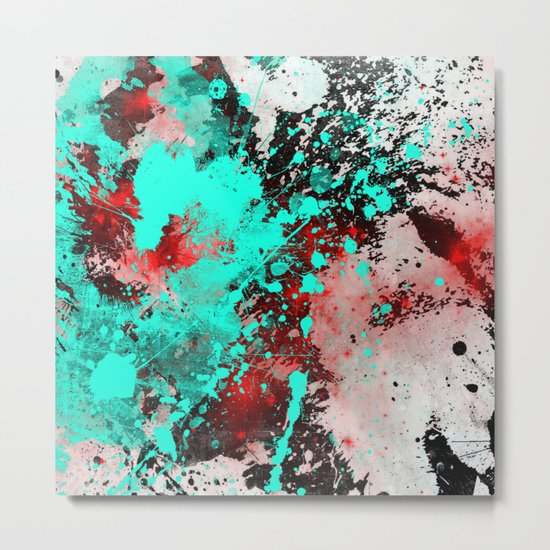 Paint With Feeling Metal Print
