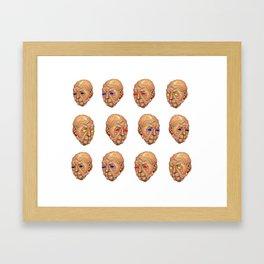 Histrionics Framed Art Print