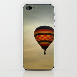 Floating into the Sunset iPhone Skin