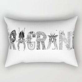 Fragrant Decay Rectangular Pillow