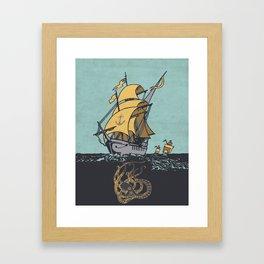 The Secrets of the Sea Framed Art Print