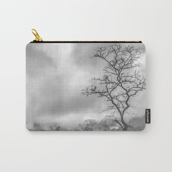 Mist in mountains Carry-All Pouch