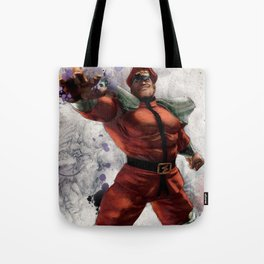 M Bison Tote Bag