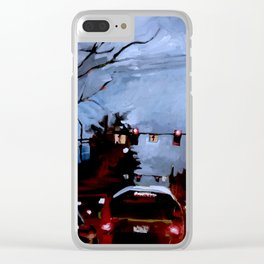 Rainy on 13th Clear iPhone Case