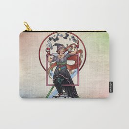 QT Witch by Bobbie Berendson W Carry-All Pouch