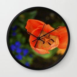 Eye of Flower Wall Clock