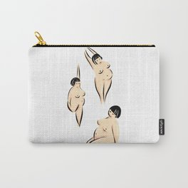 Nude Female Art Carry-All Pouch