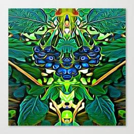 Lantana Berry Elementals Canvas Print