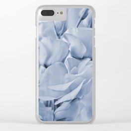 Soft blue lisianthus - Hampton Style Clear iPhone Case