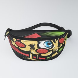 Funny Cheese Pizza Lover Gift Design Motif Fanny Pack