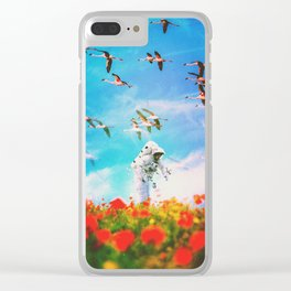 The Unaware Clear iPhone Case
