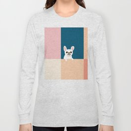 Little_French_Bulldog_Love_Minimalism_001 Long Sleeve T-shirt