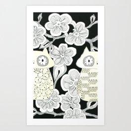 double-agent Art Print