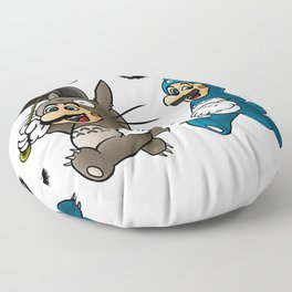 Super Totoro Bros. Alternative Floor Pillow