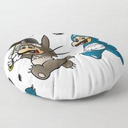 Super Totoro Bros. Alternative Floor Pillow