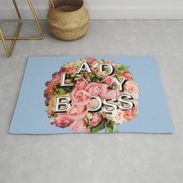 Lady Boss Floral Bouquet Rug